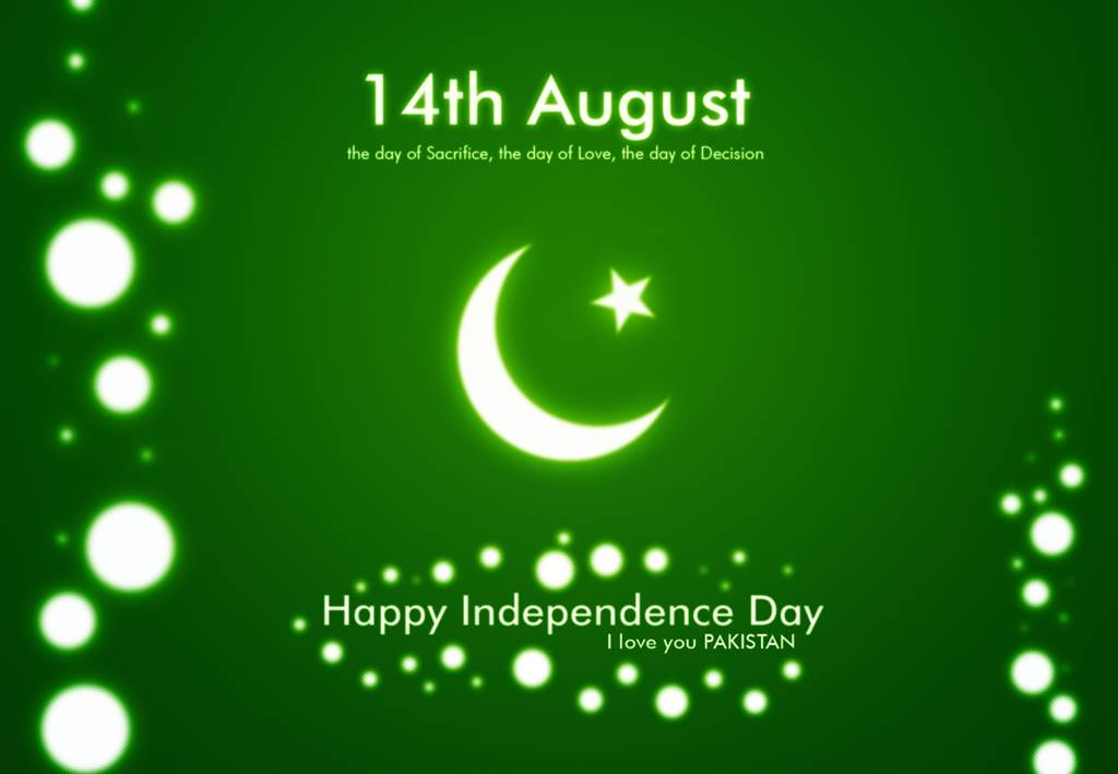 Happy Independence day to all my Pakistanis