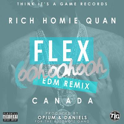 Rich Homie Quan - Flex (Ooh, Ooh, Ooh) [Opium & Daniels Remix] - Single Cover