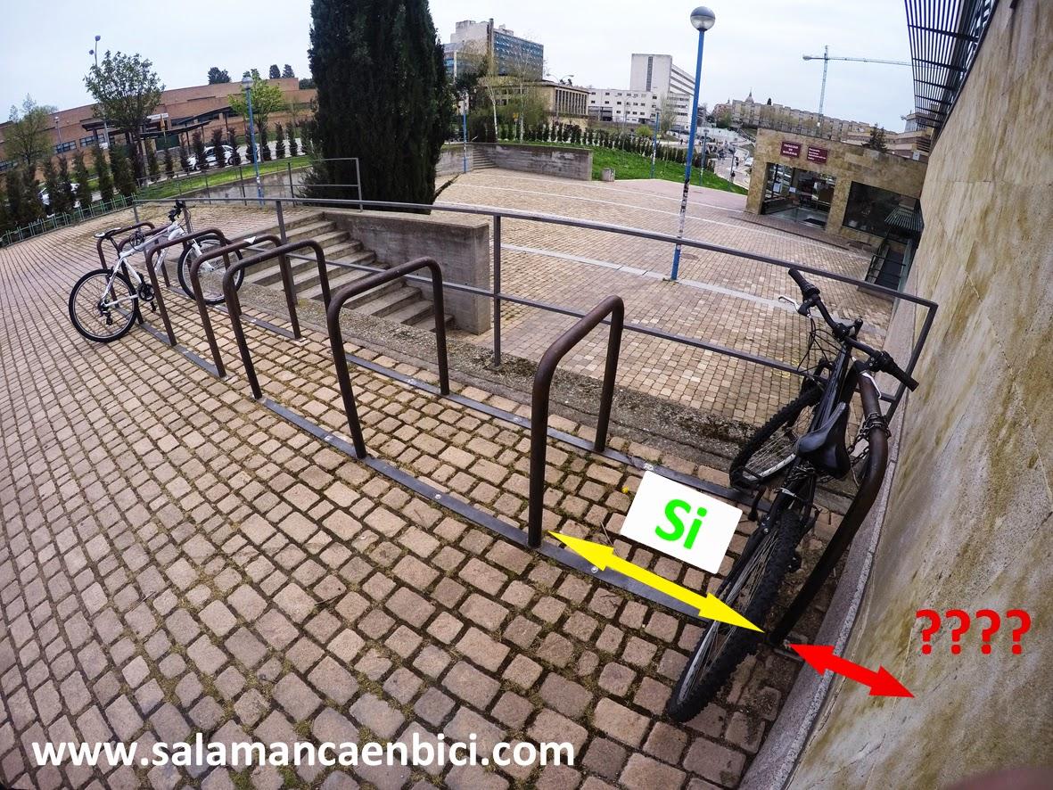 aparcamientos bici salamanca