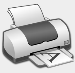 Print grayscale