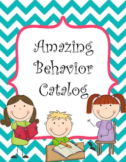 Behavior Catalog for Kindergarten