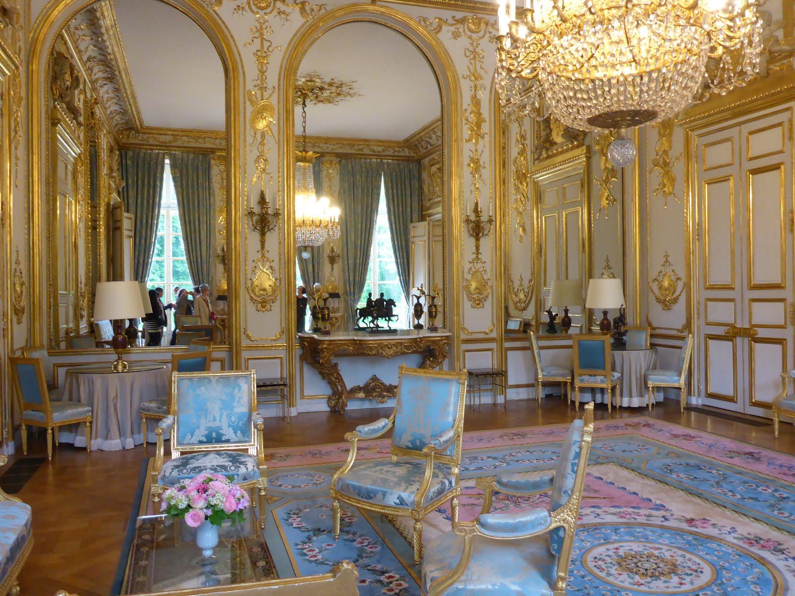 Visite priv e du palais de l elys e le bout de la lorgnette for Salon de la beaujoire