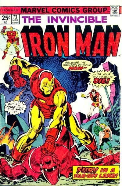 Iron Man #73, Crimson Dynamo