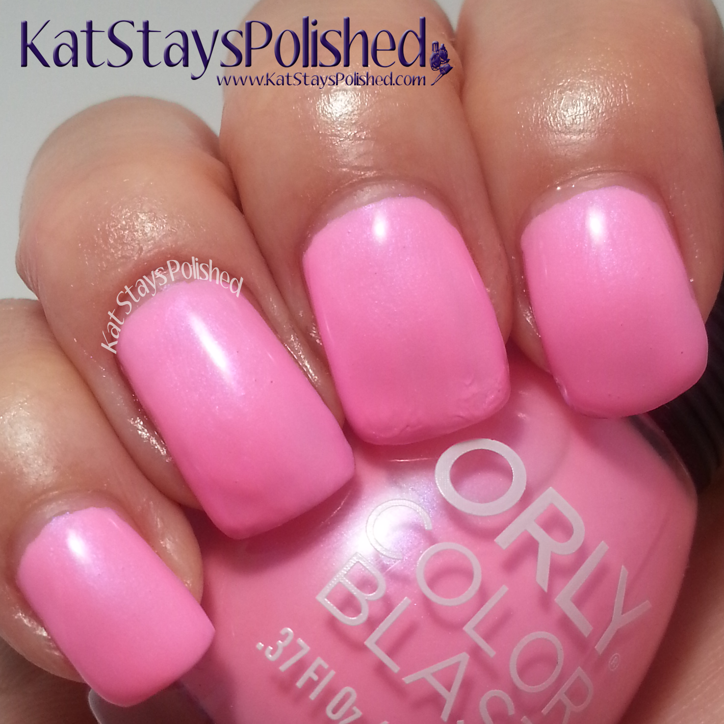 Orly Color Blast - Disney's Frozen Elsa Collection - Winter Blush | Kat Stays Polished