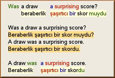 ingilizce türkçe cümle çevirici