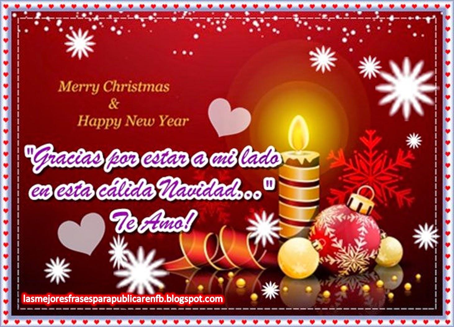 Frases De Navidad Y Año Nuevo: Gracias Por Estar A Mi Lado En Esta