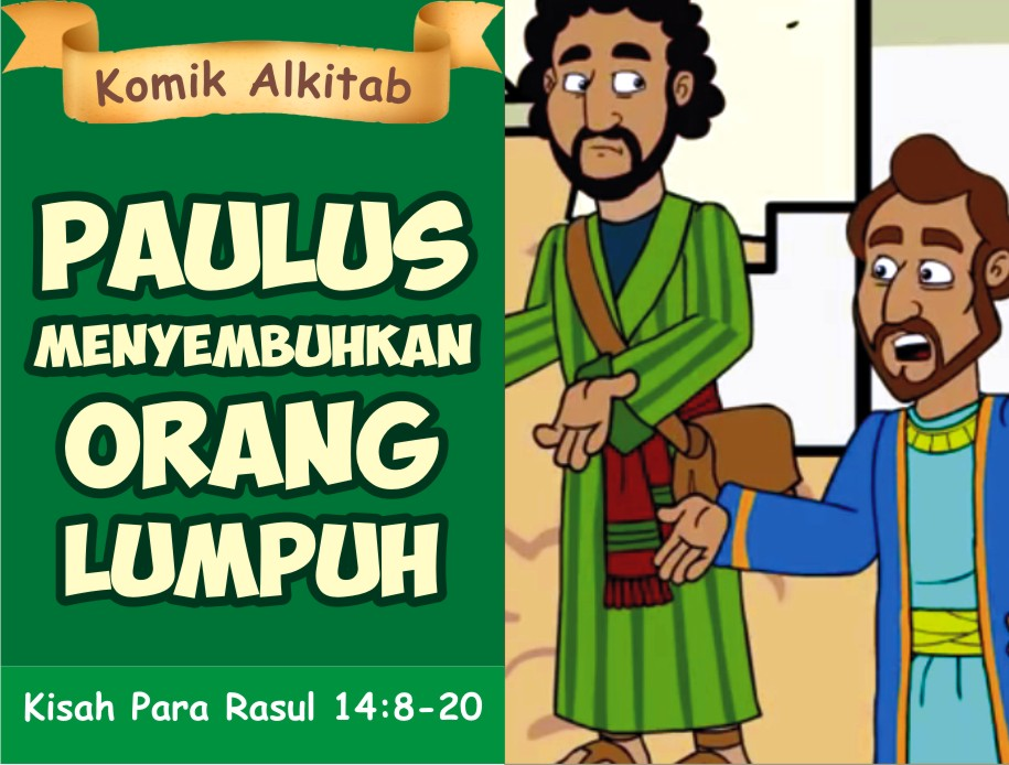 Paulus Menyembuhkan Orang Lumpuh
