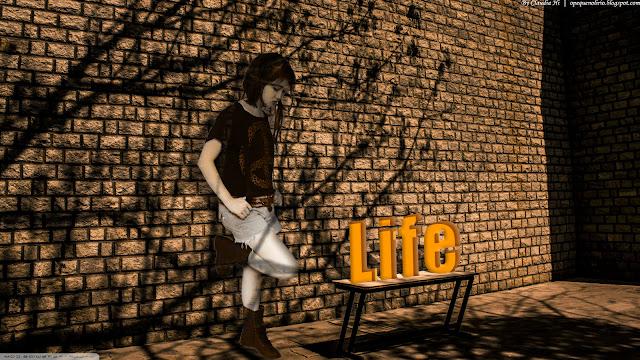 O Pequeno Lírio, Claudia Hi, Life, Montagem, Montage