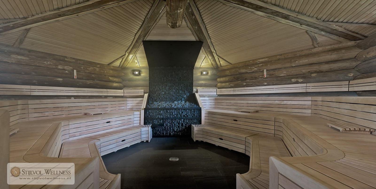 Stijlvol wellness sauna faciliteiten die werken