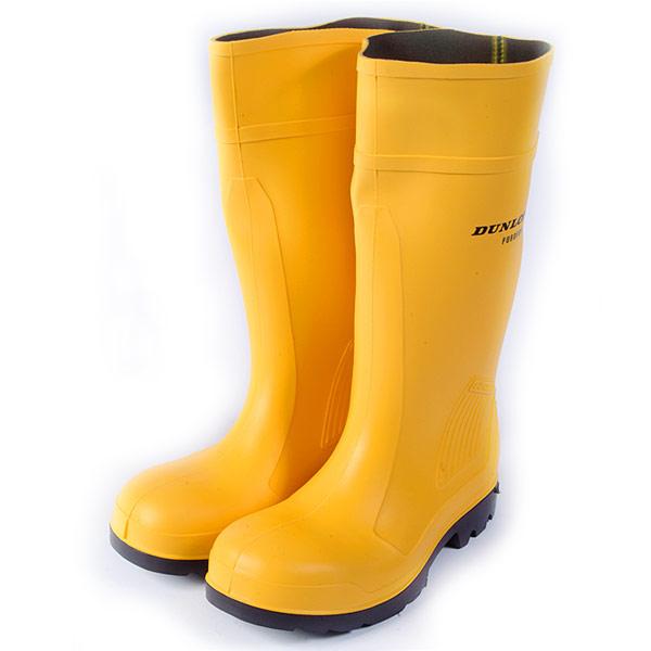 Dunlop Boots Yellow8