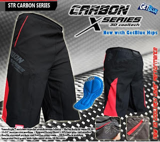 Bike Pant CARBON 3D Coolmax Padding
