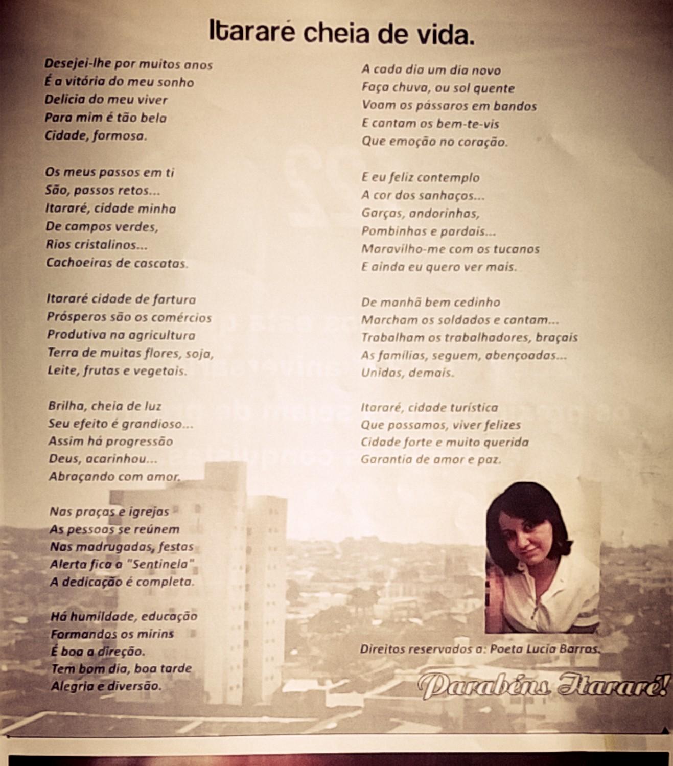 Poema editado:REVISTA GUARANI