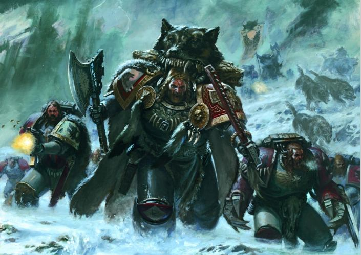 Space Wolves and Grand Aliiance Death: This Week's Pre-Orders with Prices