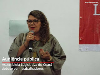 Dirigente do SINPUC participa de VI marcha dos Servidores Municipais