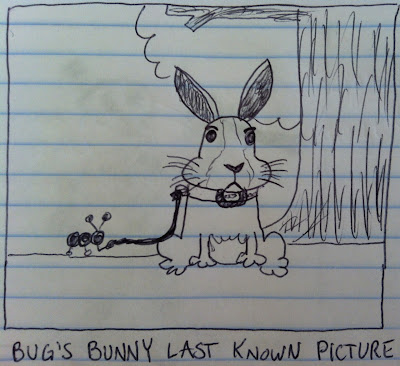 the bug has a bunny