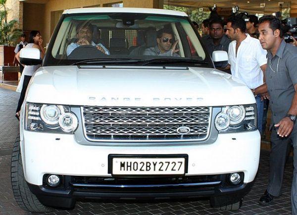 Salman Khan S Range Rover Vogue Celebrity Cars India
