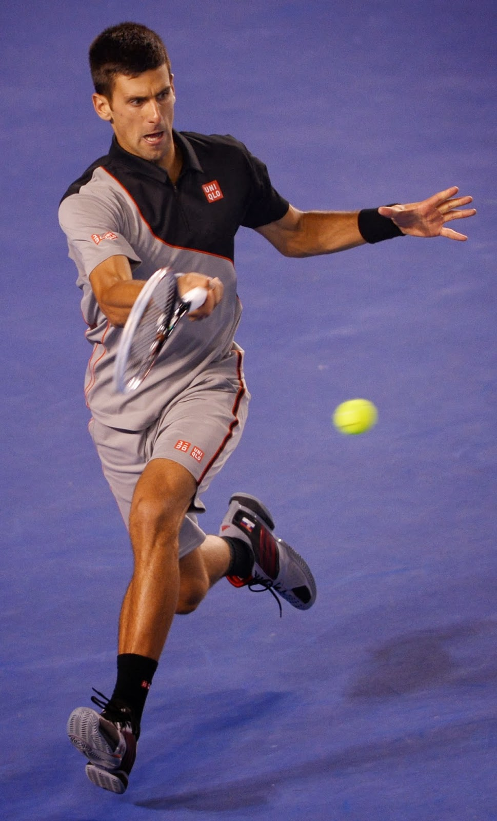 Australian Open, Novak Djokovic, Beat, Stanislas Wawrinka, Tennis, Australia, Melbourne, Men, Single, Match, Serbia, Switzerland, Celebration, Victory, Celebration, 2014,
