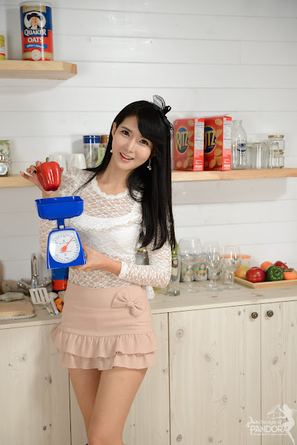 Korean Model Cha Sun Hwa