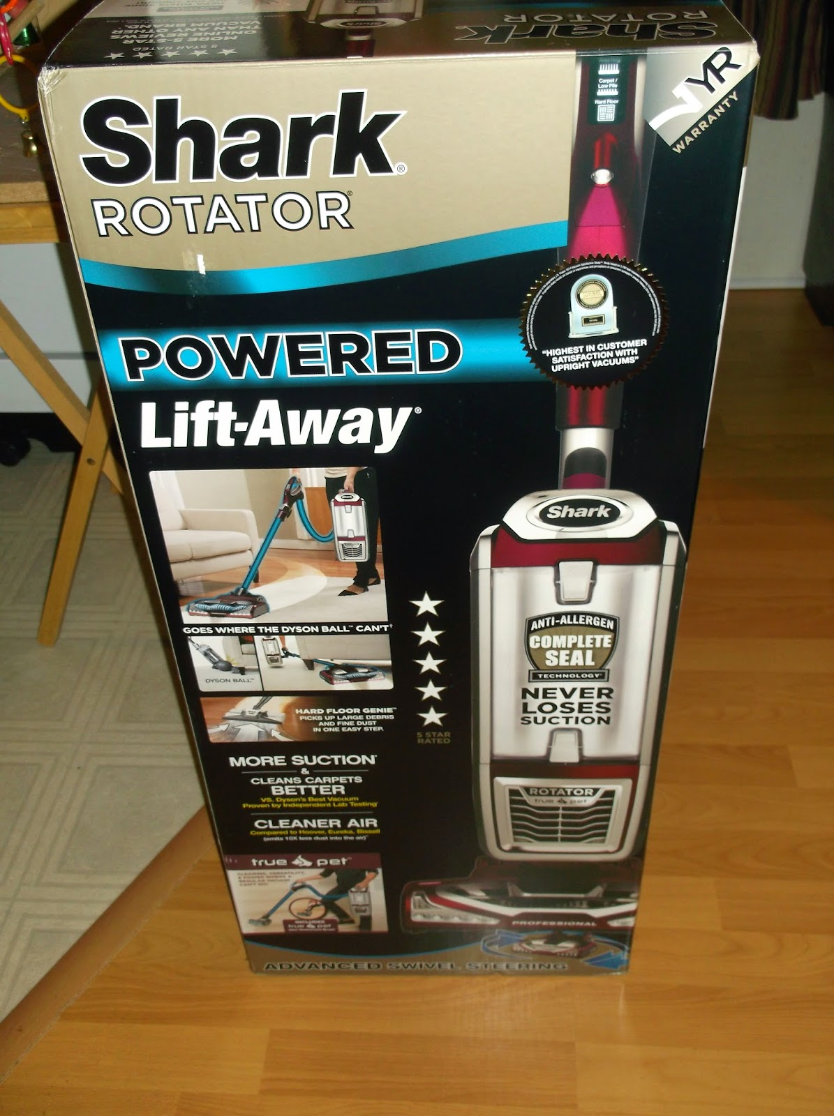 Missys Product Reviews Shark Powered Lift Away