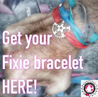 Get your #fixiebracelet!