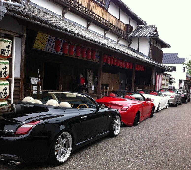 トヨタ ソアラ, レクサス SC, チューニングカー, オープンカー, Z40