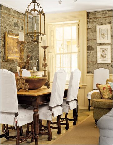 English country dining room design ideas home decorating for Country dining room ideas