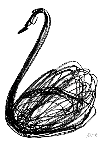 swan song tattoo. Swan song. Swan tattoo