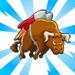 viral bullthemepartnermechanic flying bull 75x75 - CityVille: Materiais dos edifícios dos touros