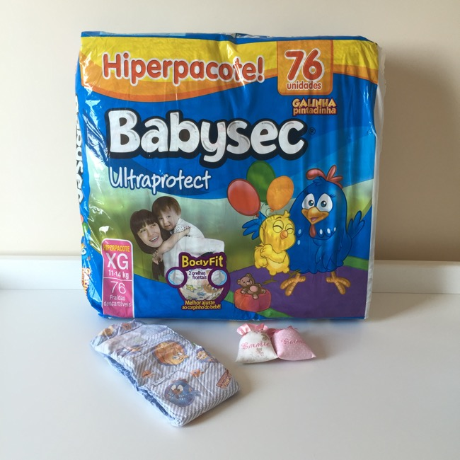 Babysec Ultraprotect pacotão econômico