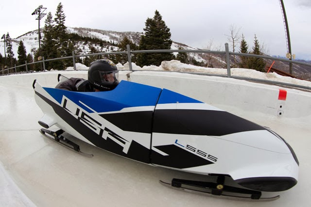 lighter faster bobsledding for the olympics