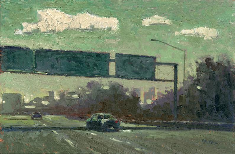 Doctor Ojiplático. William Wray. Urban Landscapes, Pintura | Paintig