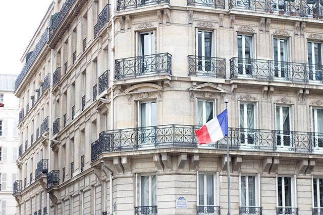 A street corner in Paris // Paris travel diary // Pretty Little Details