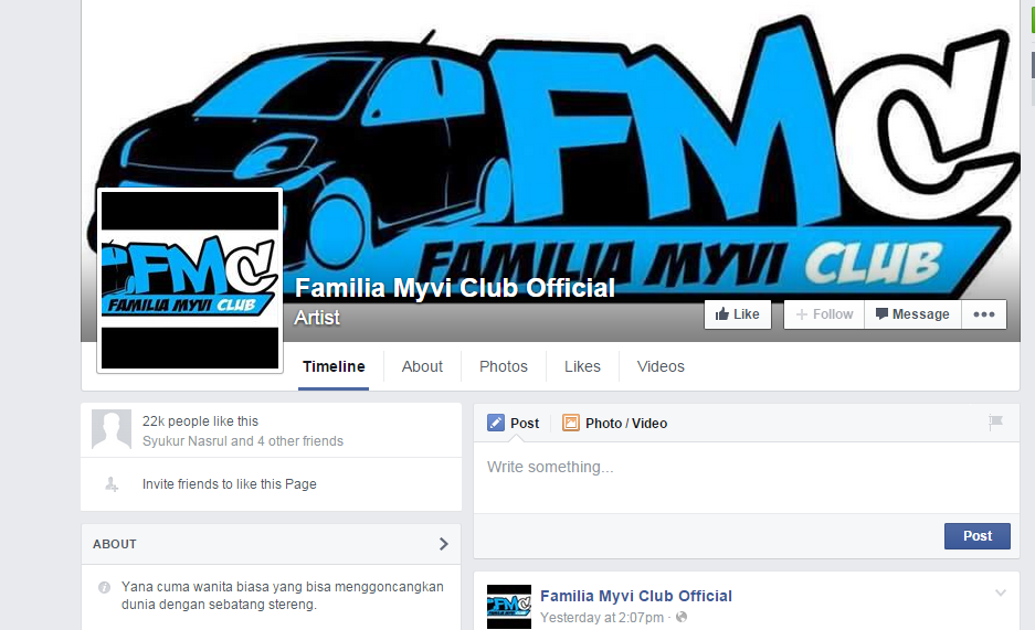 familia myvi club official