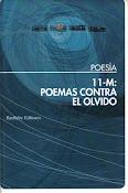 11-M: Poemas contra el olvido