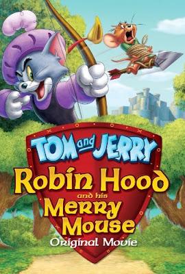 Filme Poster Tom & Jerry: Robin Hood e seu Ratinho Feliz DVDRip XviD Dual Audio & RMVB Dublado