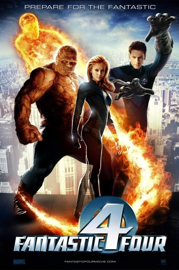 Fantastik Dörtlü (2005) 1080p Film indir