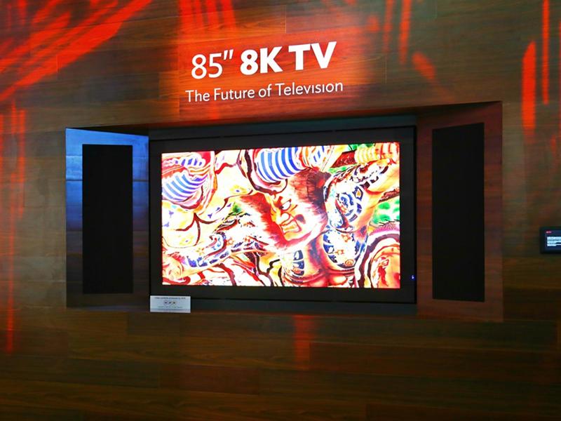 Televisión 3D sin necesidad de gafas