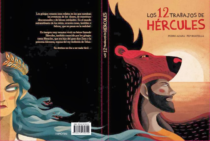Pedro Azara & Pep Boatella: Los 12 trabajos de Hércules, Hipòtesi, 2014