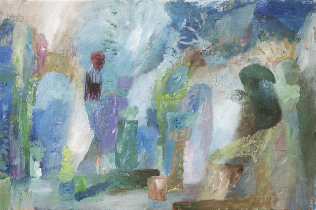 'New Era Alchemy' - Acrylics on Canvas - 60 x 40 cm - Niklas J Brandow