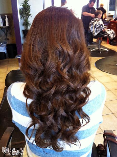 hair and make- steph september