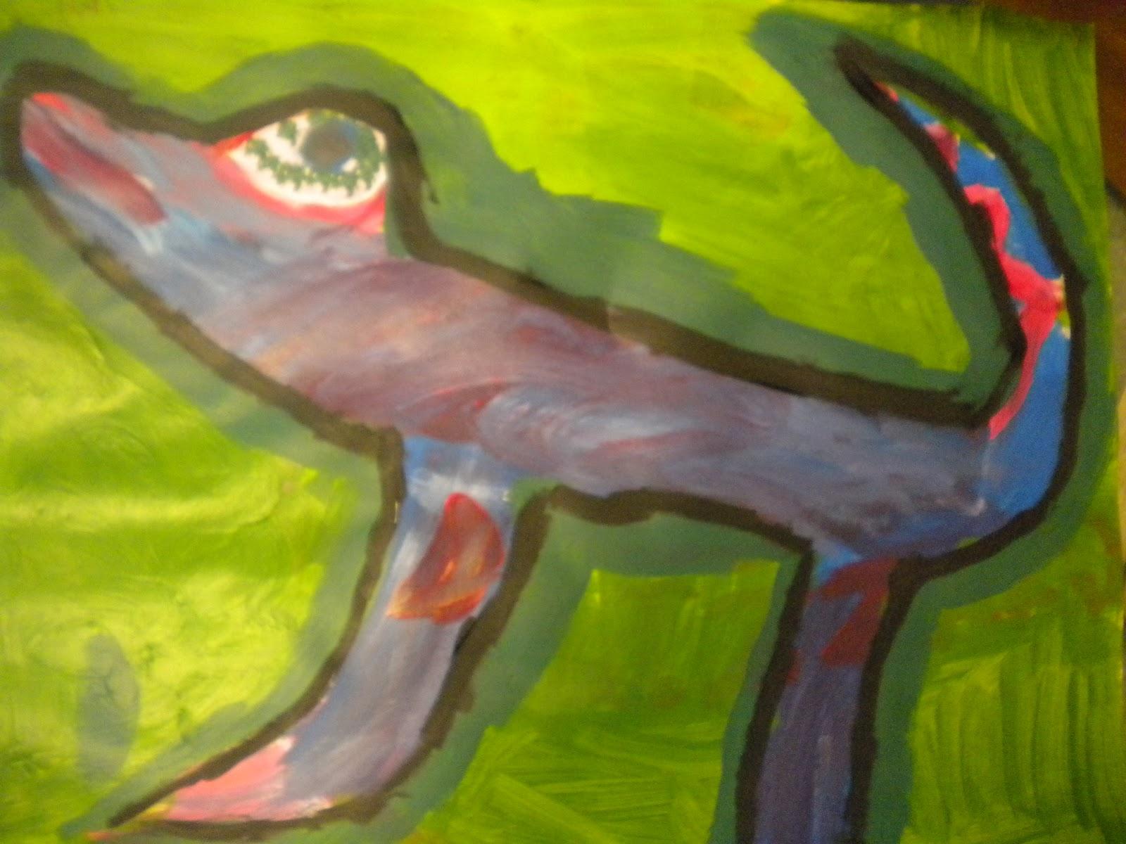 Waitsfield Elementary Art: January 2012