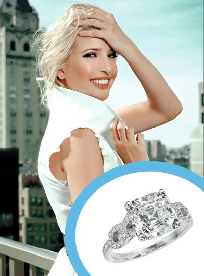 ivanka trump wedding ring price