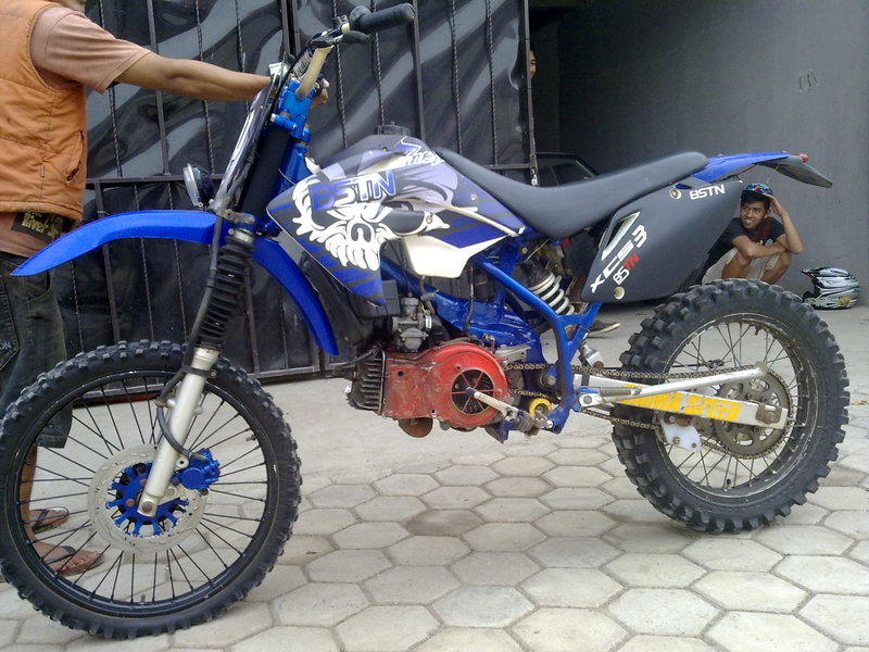 Modif Yamaha F1zr Trail