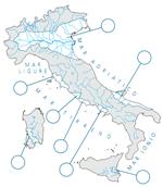 Lannaronca Cartina Muta Italia
