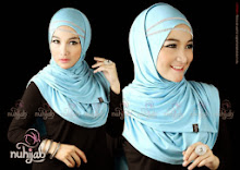 Jilbab Instan Nuhijab Plain Shawl – Baby Blue