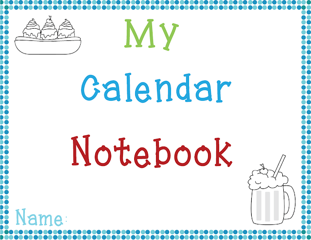 http://www.teacherspayteachers.com/Product/My-Calendar-Notebook-Spanish-English-823330