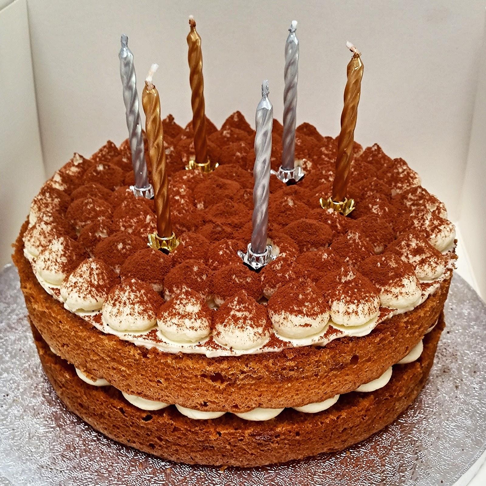 Tiramisu Cake For Angelinas Birthday