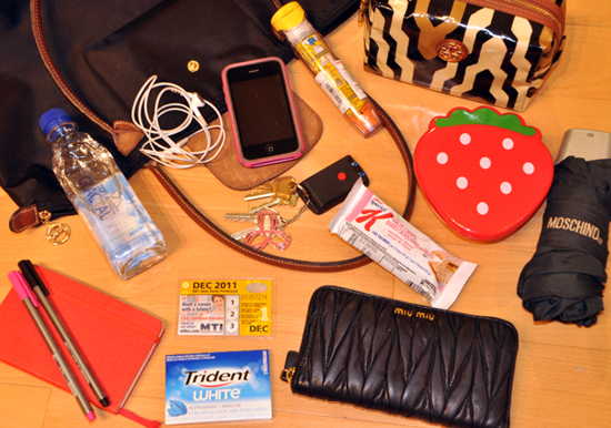 alison*elle | Vancouver fashion, beauty, and lifestyle blog: What's In My Work Bag?