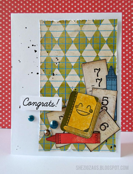 Graduation Card (via shezigzags.blogspot.com)