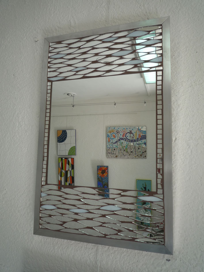 Decoration mosaique carrelage 2011 for Miroir zellige
